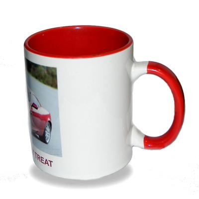 Red Hand/inside Mug