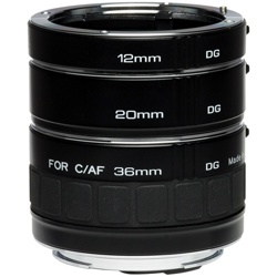 Kenko-Auto Extension Tube Set DG for Canon EF - EF-S-Lens Converters & Adapters