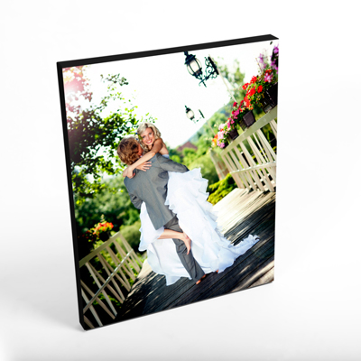"16x20"" Vertical Photo Canvas Print - Black Edges"