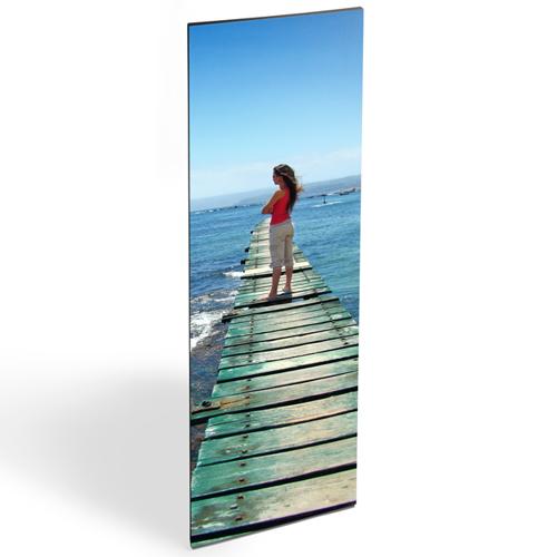 "20x60"" Vertical Photo Canvas Print - Black Edges"