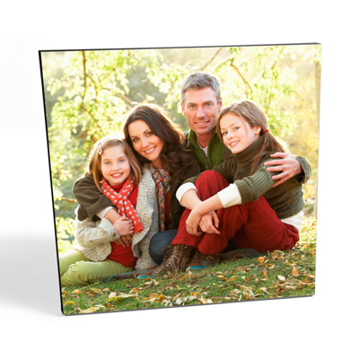 "36x36"" Square Photo Canvas Print - Black Edges"