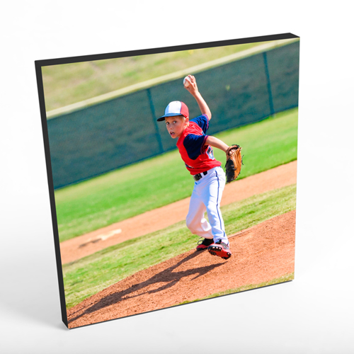 "16x16"" Square Photo Canvas Print - Black Edges"