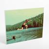 """20x24"""" Horizontal Photo Canvas Print - White Edges"""
