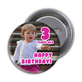 "3"" Photo Button"