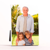 "5x7"" Vertical Photo Canvas Print - White Edges"