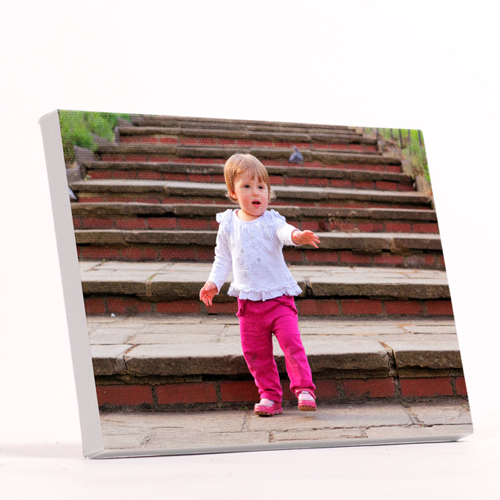 "5x7"" Horizontal Photo Canvas Print - White Edges"