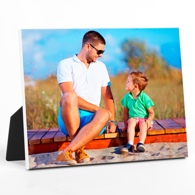 "8x10"" Horizontal Photo Canvas Print - White Edges"