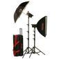 Photogenic-PL2315K 1000 Total WS Powerlight Digital Travel Kit-Studio Lighting Kits