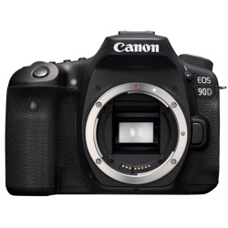Canon-EOS 90D Digital SLR Camera - Body Only - Black-Digital Cameras
