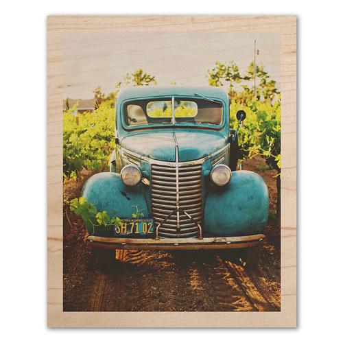 8x10 Wood Print with Narrow Border