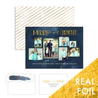 Merry and Golden<br>5x7 Foil<br>Envelope