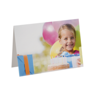 5x7 Folded Greeting Card (horizontal)