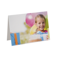 5x7 Folded Greeting Card (horizontal)
