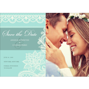 Lace B - 1 Sided Save the Date  5x7