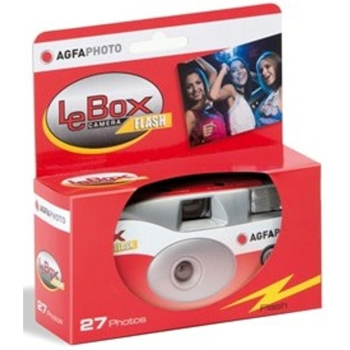 Agfa-LeBox 400 Camera Flash - 27 Photos-Film Cameras