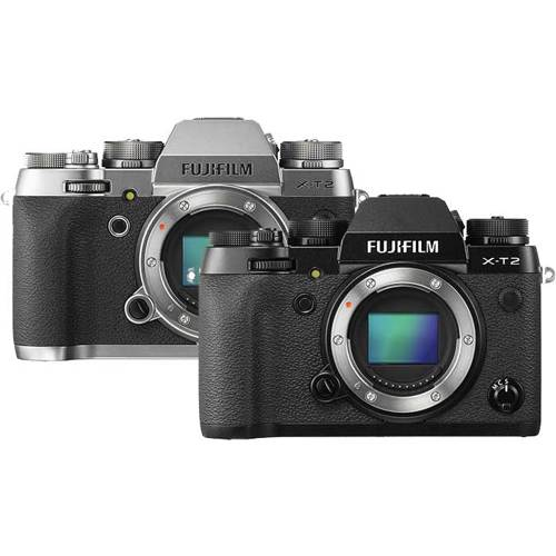 Fujifilm-X-T2 Compact System Camera - Body Only-Digital Cameras