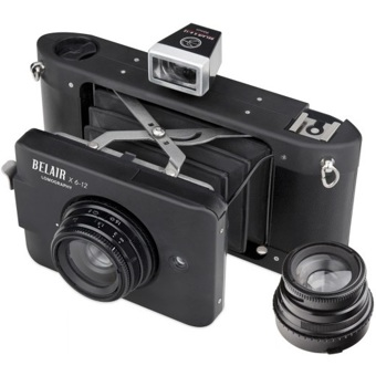 Lomography Belair X 6-12 City Slicker - Black - Film Cameras ...