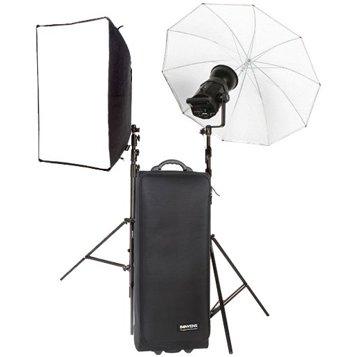 Bowens Gemini 400RX with Umbrella and Softbox Kit