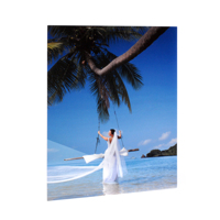 20x30 Vertical Gloss White Aluminum Panel