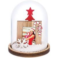 Christmas Snowflake Dome