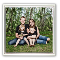 12x12 White Framed Canvas in Shadow Box - Not made in store
