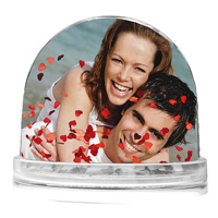 Fun Photo Globe with Hearts