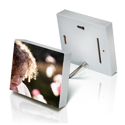 6x6 White Photo Block (Gloss)