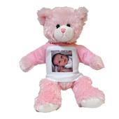 Baby Girl Teddy Bear 30cm