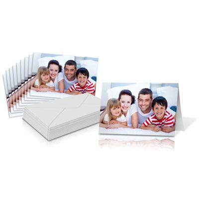 "5x7"" Folded Card Landscape - Single-sided (20 Pack)"