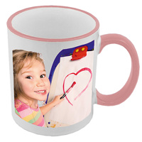 Pink & White Mug - RH