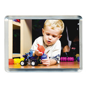 Clear Fridge Magnet