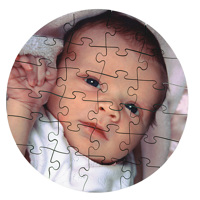 Childs Round Puzzle (24 pcs)