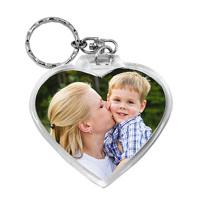 Love Heart Photo Keyring