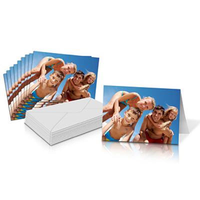 "6x4"" Folded Card Landscape - Single-sided (20 Pack)"