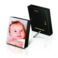4x6 Black Photo Block (Gloss)