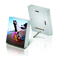 4x6 White Photo Block (Matte)