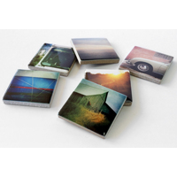 6pk Ceramic Photo Magnets