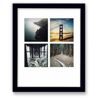 8x10 Black Wall Frame w/Prints