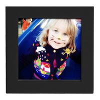 4x4 Black Frame w/ Print