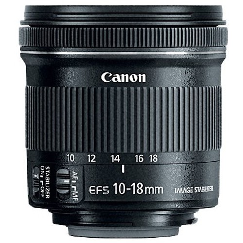 Canon-EF-S 10-18mm f4.5-5.6 IS STM-Lenses - SLR & Compact System