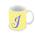 Lemon Monogram Mug