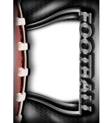 Football Magnet 4x6