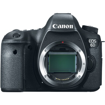 Canon-EOS 6D Digital SLR Camera - Body Only - Black-Digital Cameras