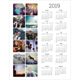 Magnet Calendar (19-03)
