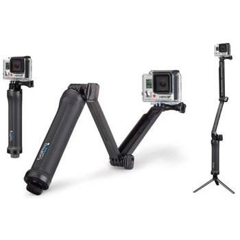 GoPro-3-Way Mount #AFAEM-001-Video Camera Accessories