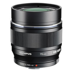 Olympus-M. Zuiko Digital ED 75mm f1.8 Lens - Black-Lenses - SLR & Compact System