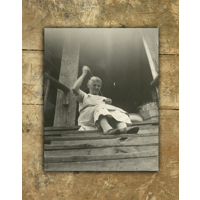 8x10/11x14 V Standout on a distressed wood background
