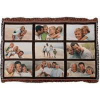 9 Panel Throw Blanket