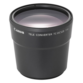 Canon TC DC52B 16x Teleconverter For PowerShot S1 IS Lens Converters