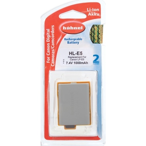 Hähnel-HL-E5 Replacement Battery for Canon LP-E5-Battery Packs & Adapters